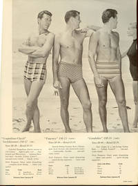 Jantzen International Sportswear for Sportsmen. 1957. Swim-trunks - Walking Shorts - Club Shirts