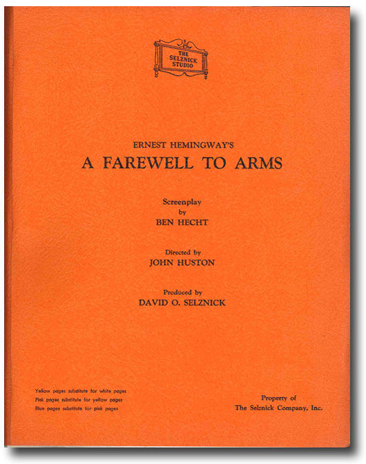 a farewell to arms frederick henry Frederic henry in the sections of the novel in which he describes his experience  in the war, henry portrays himself as a man of duty he attaches to this.