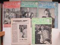 image of Accordian times and modern musician: 5 issues. Vol 11 nos. 9 & 12 (Sept &  Dec 1956) & Vol 12 nos. 2, 5 & 6 (Feb, May & June 1957)