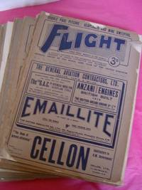 FLIGHT (MAGAZINE) A Small collection of 20 Issues from 1915 All With Original Wrappers. A Journal Devoted to the Interests, Practice and Progress of Aerial Locomotion and Transport