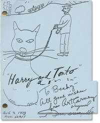 image of Harry and Tonto (Original screenplay for the 1974 film, inscribed by Art Carney)