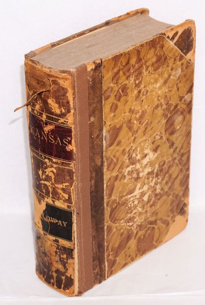 Lafayette, IN: James, Emoons & Co, 1868. 584p., ex library copy; spine panel (calf, reinforced with ...