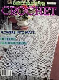 Decorative Crochet July 1990 No 16