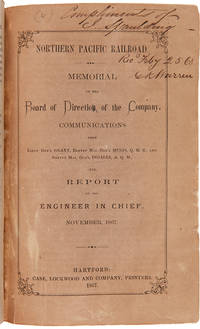 [SAMMELBAND OF SEVEN NORTHERN PACIFIC RAILROAD PAMPHLETS AND EXTRACTS, ASSEMBLED BY GOUVERNEUR K. WARREN, AND INCLUDING ASA WHITNEY'S EARLY CALL FOR A TRANSCONTINENTAL RAILROAD, AND PHILIP RITZ'S RARE AND IMPORTANT NARRATIVE OF TRAVELS IN THE PACIFIC NORTHWEST]