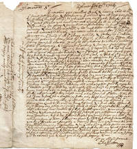 image of A DENSELY PENNED AUTOGRAPH LETTER SIGNED by CHARLES HUTTON Rector of Uplime to ROBERT NELSON author of