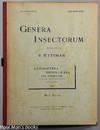 Genera Insectorum