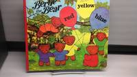 image of Bertie the Bear Red yellow blue