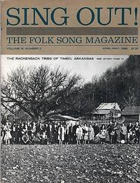 """""""SING OUT! THE FOLK SONG MAGAZINE"""", Volume 16, Number 2, April-May 1966"""