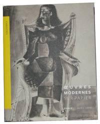 Oeuvres Modernes Sur Papier Paris 11 Avril 2013