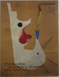 27 Works From the Morton G. Neumann Family Collection, New York, November 17, 1998