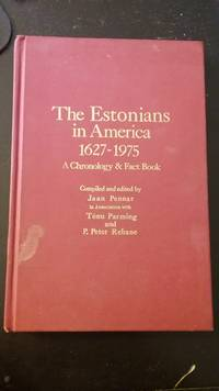 The Estonians in America 1627 - 1975