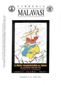 Catalogo no.48/2002: Aviazione, Marina, Bibliografia,  Letteratura (libri  Antichi e moderni) Salgari, Varia.