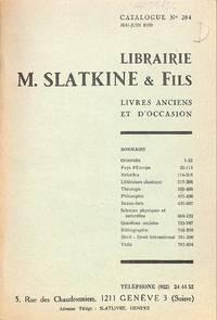 Catalogue 284/1970 :