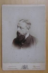 Cabinet Photograph. Portrait of a Bearded Gentleman.