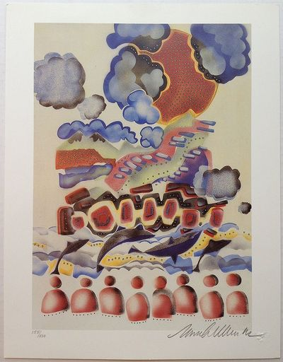 1992. unbound. Signed lithograph titled