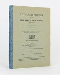 Notes on the Aborigines of the South-East of South Australia. [Contained in] Transactions of the Royal Society of South Australia, Volume 58, 1934