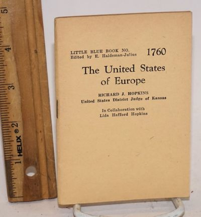 Girard: Haldeman-Julius Publications, no date. 64p., 5 x 3.5 inch stapled blue wraps, very good. B&W...