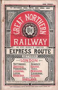 [Public Time Tables]. Great Northern Railway and Other Railways in connection 1st October, 1902, until 30th June, 1903 (unless previously withdrawn)