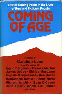 COMING OF AGE. Signed and inscribed by the author.