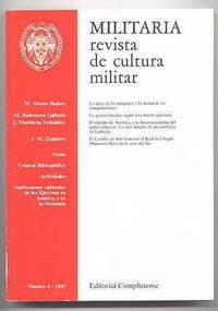 image of MILITARIA: REVISTA DE CULTURA MILITAR.  NUMERO 4 - 1992.