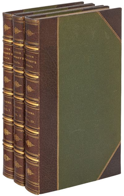 London: Chapman and Hall, 186, Strand, 1841. Hardcover. Very Good. First edition. Three volumes. Wit...