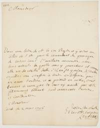 image of Autograph Letter Signed in French with translation, to Count Birago, Captain of Auxiliaries and Commanding the Canale Brigades at Cherasco (French Querasque), (Karl Sigmund Friedrich Wilhelm, 1692-1755, General of Infantry in the Piedmontese Army in the War of the Austrian Succession, Baron)