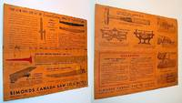Simonds Canada Saw Co. Limited Cross-Cut (Crosscut) Saw Advertisement / Owner's Information Sheet