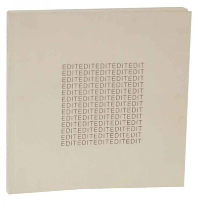 Santa Monica, CA: Patricia Faure Gallery, 2001. First edition. Softcover. Exhibition catalog for a s...