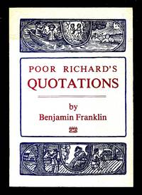 image of Poor Richard's Quotations