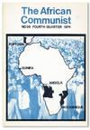 image of The African Communist (Quarterly). No. 59 - Fourth Quarter 1974
