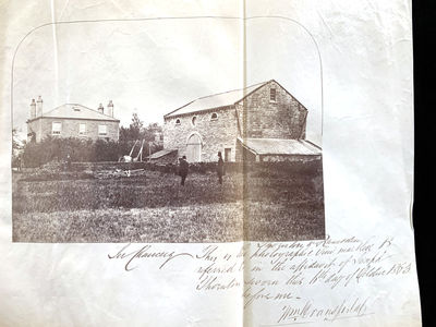 ONE OF THE FIRST USES OF PHOTOGRAPHS...