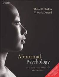 image of Abnormal Psychology: An Integrative Approach 7th Edition
