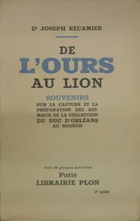DE L'OURS AU LION