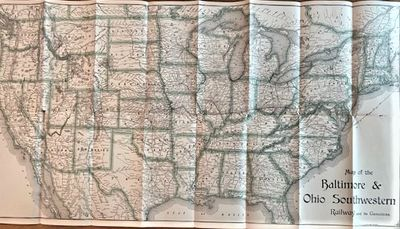UNRECORDED 1896 RAILROAD MAP