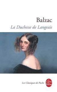 image of La Duchesse de Langeais (Ldp Classiques)