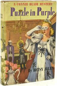 PUZZLE IN PURPLE. A CONNIE BLAIR MYSTERY