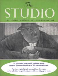 A. Gibbons Grinling: The Sculpture of. An original article from the The Studio magazine, 1949