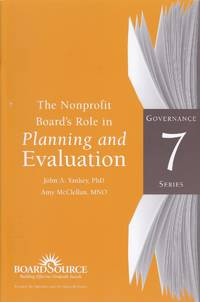 Nonprofit Board's Role in Planning and Evaluation