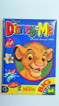 image of Disney and Me Annual 1999.