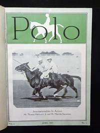 POLO Magazine - 1927 & 1928, Volume I with 12 Bound Issues