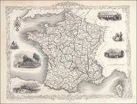 France by John Tallis and Rapkin - 1851 - from Roz Hulse and Biblio.com