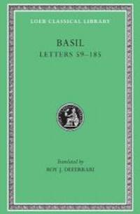 image of Basil: Letters 59-185 (Loeb Classical Library No. 215) (Volume II)