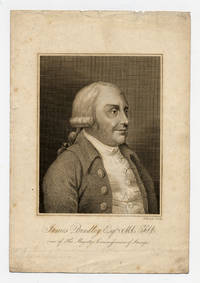 Engraved portrait of James Bindley, Esq