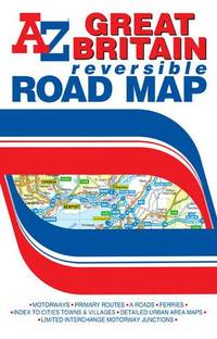 G.B. Road Map (Reversible) (A-Z Road Map)