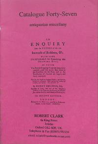 Catalogue 47/ : Antiquarian Miscellany.