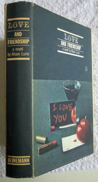 Love and Friendship by Lurie Alison - First Edition - 1962 - from Glenbower Books and Biblio.com