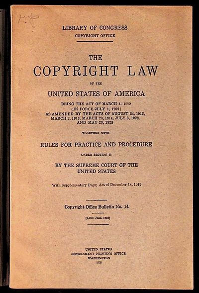 Washington: United States Government Printing Office, 1928. Paperback. Very Good. Paperback. Copyrig...