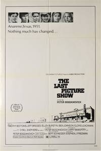 The Last Picture Show (Original poster for the 1971 film)