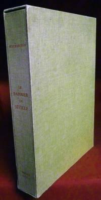 Le Barbier De Seville by P.-A.C. de Beaumarchais; Decors & Personnages Par Andre Derain