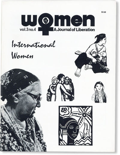 Baltimore: Women: A Journal of Liberation, 1974. First Edition. Quarto (27.75cm); illustrated card w...